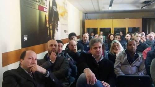 Assemblea sindacale CONSAP presso la Questura di Roma