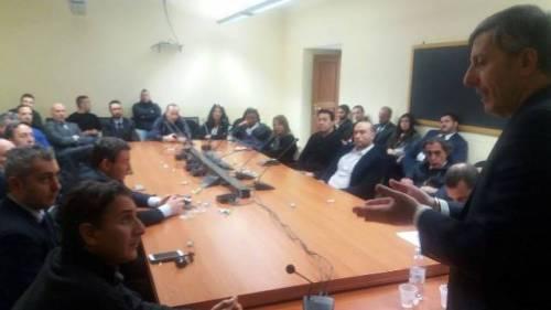Riordino delle Carriere e Contratto, Ispettorato P.S. Palazzo Chigi, partecipata assemblea sindacale alla presenza del Segretario Generale Nazionale Giorgio Innocenzi
