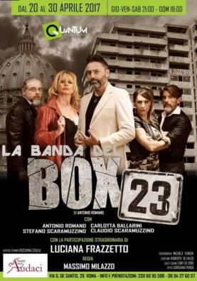 Spettacoli, la banda del box 23 con Luciana Frazzetto