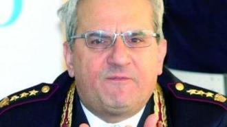 Il Dirigente del Compartimento Polizia Stradale Lazio dr Mario Nigro