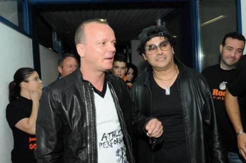 Gigi D'Alessio con Luca Guadagnini
