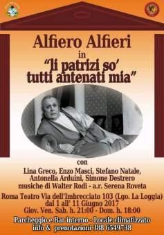 "Convenzioni CONSAP , Alfiero Alfieri in "" li patrizi sò tutti antenati mia"""