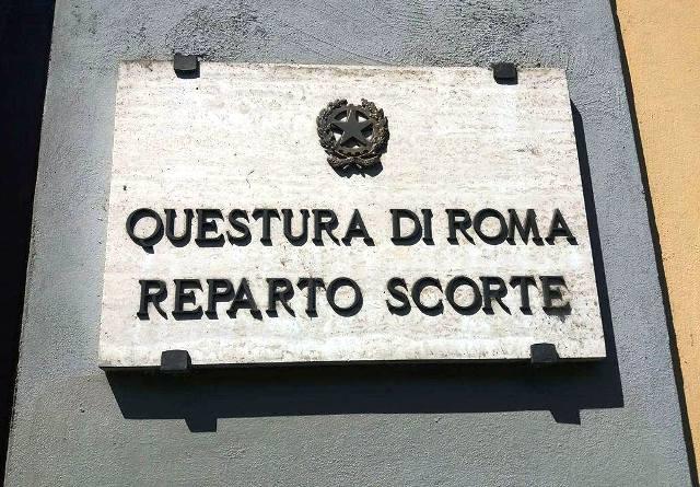Questura di Roma - Reparto Scorte