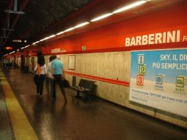 Metro Barberini ROMA