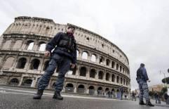 Controlli e vigilanza di sicurezza al Colosseo
