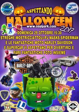 Aspettando Halloween, domenica 29 ottobre 2017 all'Oasi Park ore 15.30
