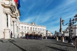 Palazzo del Quirinale, sede dell'Ufficio Presidenziale della Polizia di Stato
