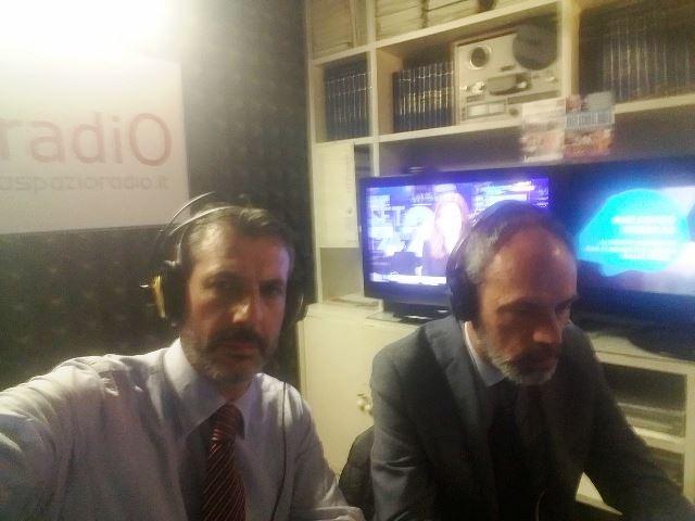Diretta Elleradio 88,100 FM. Gianluca Guerrisi con Stefano Spagnoli
