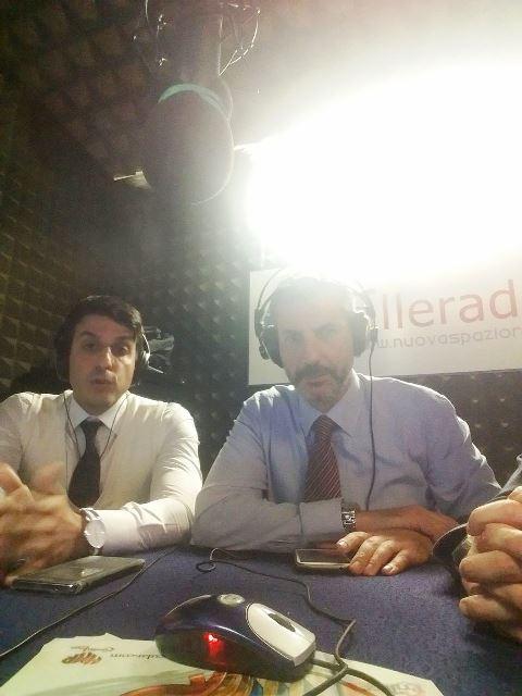 Diretta Elleradio 88,100 FM. Gianluca Guerrisi con Vittorio Palamenghi