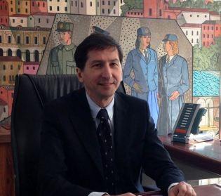 Nella foto: il neo Direttore dell'Ispettorato di P.S. Viminale, dr Gianfranco Bernabei