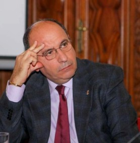 Il Prefetto Enzo Calabria, Capo della Segreteria del Dipartimento della Pubblica Sicurezza al Ministero dell'Interno