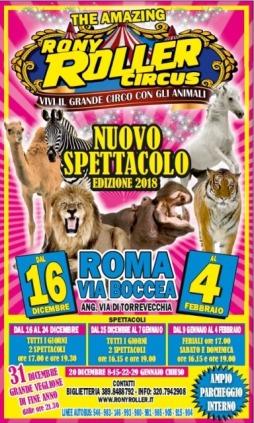 Convenzione CONSAP e Rony Roller Circus Nuovo Spettacolo edizione 2018
