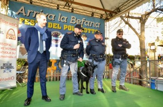 Arriva la BEFANA Festa DEL POLIZIOTTO CONSAP 2018, sul palco il Reparto Cinofili della Polizia di Stato Questura di ROMA