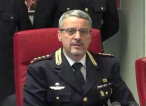 Il Primo Dirigente della Polizia di Stato dr Mauro Fabozzi, dirigente del Commissariato di P.S. Trevi-Campo Marzio