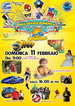 Una Grassa Domenica Festa del Carnevale 2018
