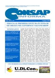 CONSAP Informa n. 23 del 9 Giugno 2018