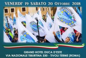 Congresso Nazionale CONSAP - Grand Hotel Duca d'Este 19/20 Ottobre 2018
