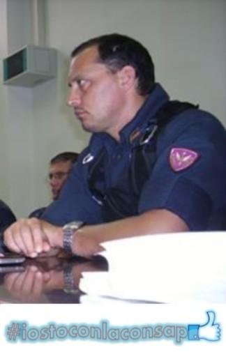 Gianluca (Drago) Salvatori, Segretario Provinciale di Roma e Segretario Locale al Reparto Mobile di Roma