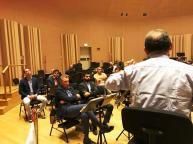Momenti del Congresso Locale CONSAP alla Banda Musicale della Polizia di Stato