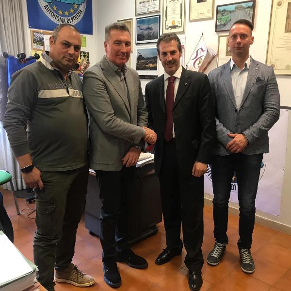 Nella foto da sinistra: Castelli, Turicchi, Guerrisi e Profili