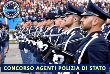 Concorso per Allievi Agenti della Polizia di Stato