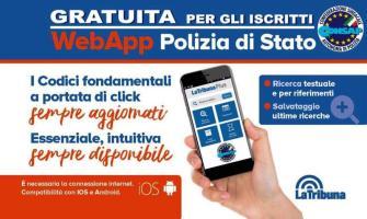 WebApp Polizia di Stato CONSAP - Compatibile Sistema Ios e Android