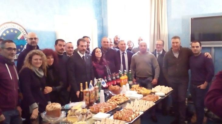 Brindisi Auguri 2018/2019 CONSAP Segreteria Provinciale di Roma