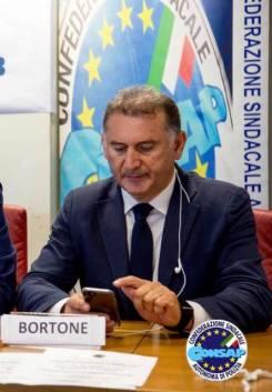 Cesario Bortone Segretario Generale Nazionale Vicario CONSAP- Confederazione Sindacale Autonoma di Polizia