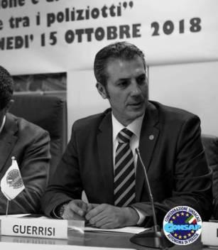 Gianluca GUERRISI, Segretario Generale di Roma e Dirigente Nazionale Coordinatore per l'Italia Centrale sindacato di Polizia CONSAP