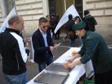 2013 - La CONSAP in piazza per il Buono Pasto a 7 euro !!