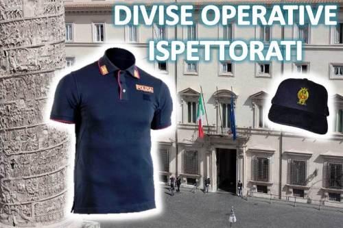 Divise Operative anche per gli Ispettorati di Polizia