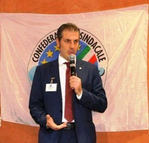 Gianluca GUERRISI, Segretario Generale del Sindacato CONSAP di Polizia a Roma