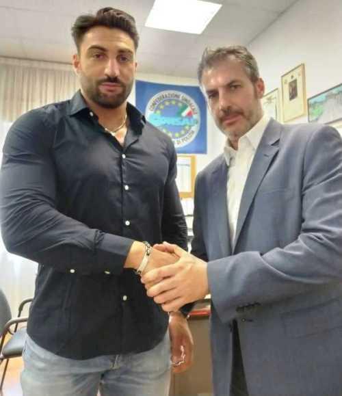 Nella foto: da sinistra il neo Dirigente Sindacale CONSAP al Commissariato di P.S. Prati, Poggiogalle, con il Segretario Generale CONSAP di Roma Guerrisi