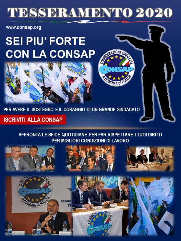 Campagna Tesseramento CONSAP 2020