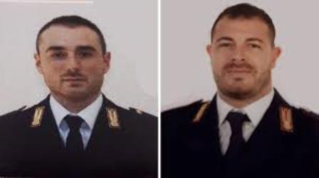 Pierluigi Rotta e Matteo Demenego i due Agenti della Polizia di Stato uccisi da uno straniero presso la Questura di Trieste