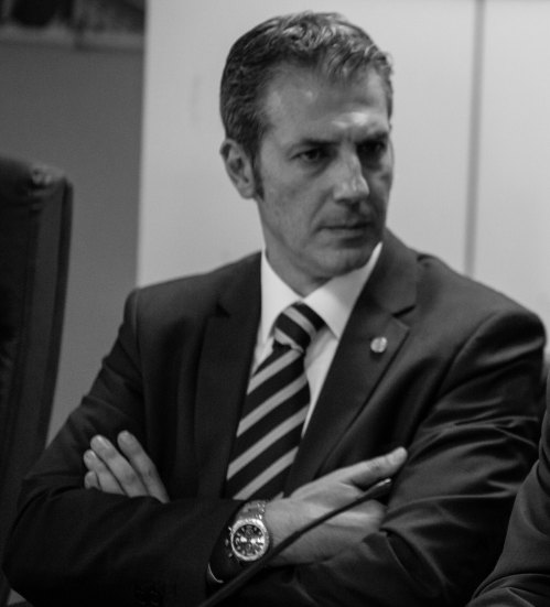 Gianluca GUERRISI, Segretario Provinciale Generale di Roma e Dirigente Nazionale Coordinatore Italia Centrale CONSAP - Confederazione Sindacale Autonoma di Polizia