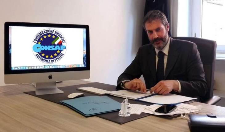 GUERRISI - Segretario Generale Provinciale di Roma e Dirigente Nazionale Coordinatore per l'Italia Centrale - Sindacato della Polizia di Stato CONSAP Confederazione Sindacale Autonoma di Polizia