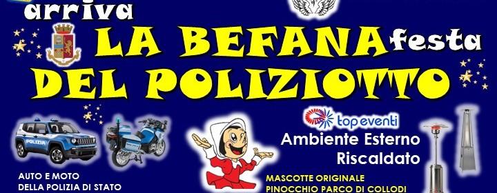 Arriva LA BEFANA - Festa DEL POLIZIOTTO CONSAP - 8a edizione - 6 Gennaio 2020 ore 15.00