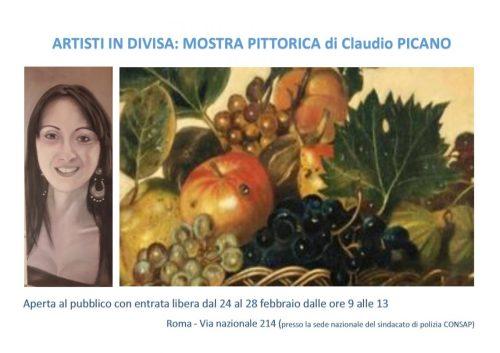 Artisti in Divisa - Claudio PICANO