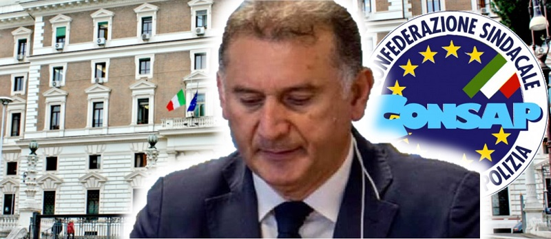 Cesario BORTONE - Segretario Generale Nazionale Sindacato Polizia CONSAP
