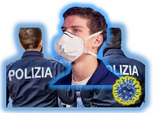 Mascherine di protezione per il personale del Reparto Mobile di ROMA