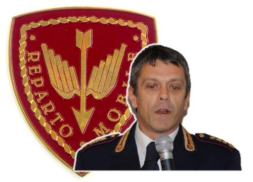 dr Furio FARINA - Comandante del I° Reparto MOBILE ROMA