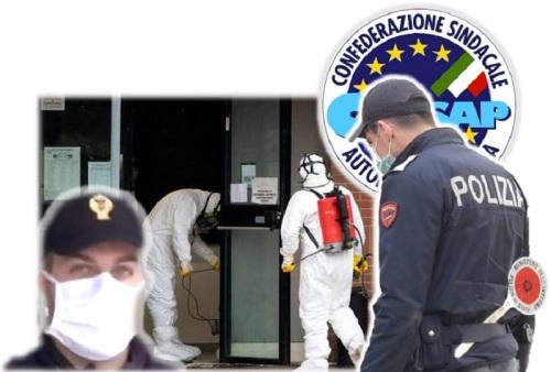 Sanificazione Uffici di Polizia di Stato - COVID 19