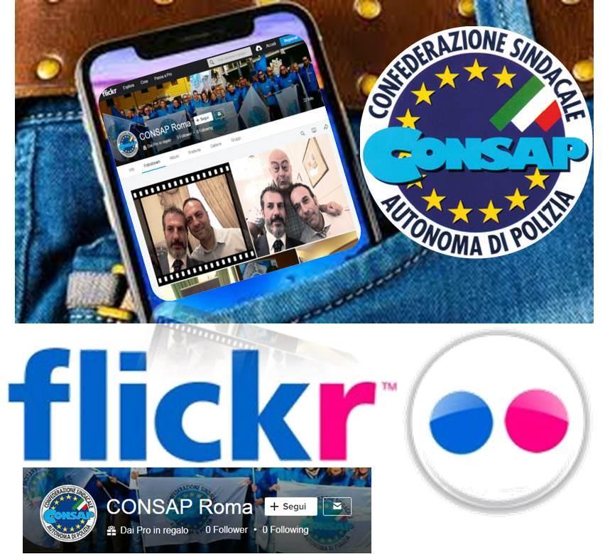 Seguici su FLICKR - CONSAP Roma