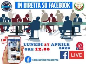 Diretta Facebook CONSAP Roma