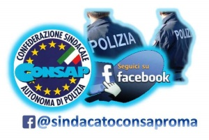 Seguci su Facebook @CONSAP Roma
