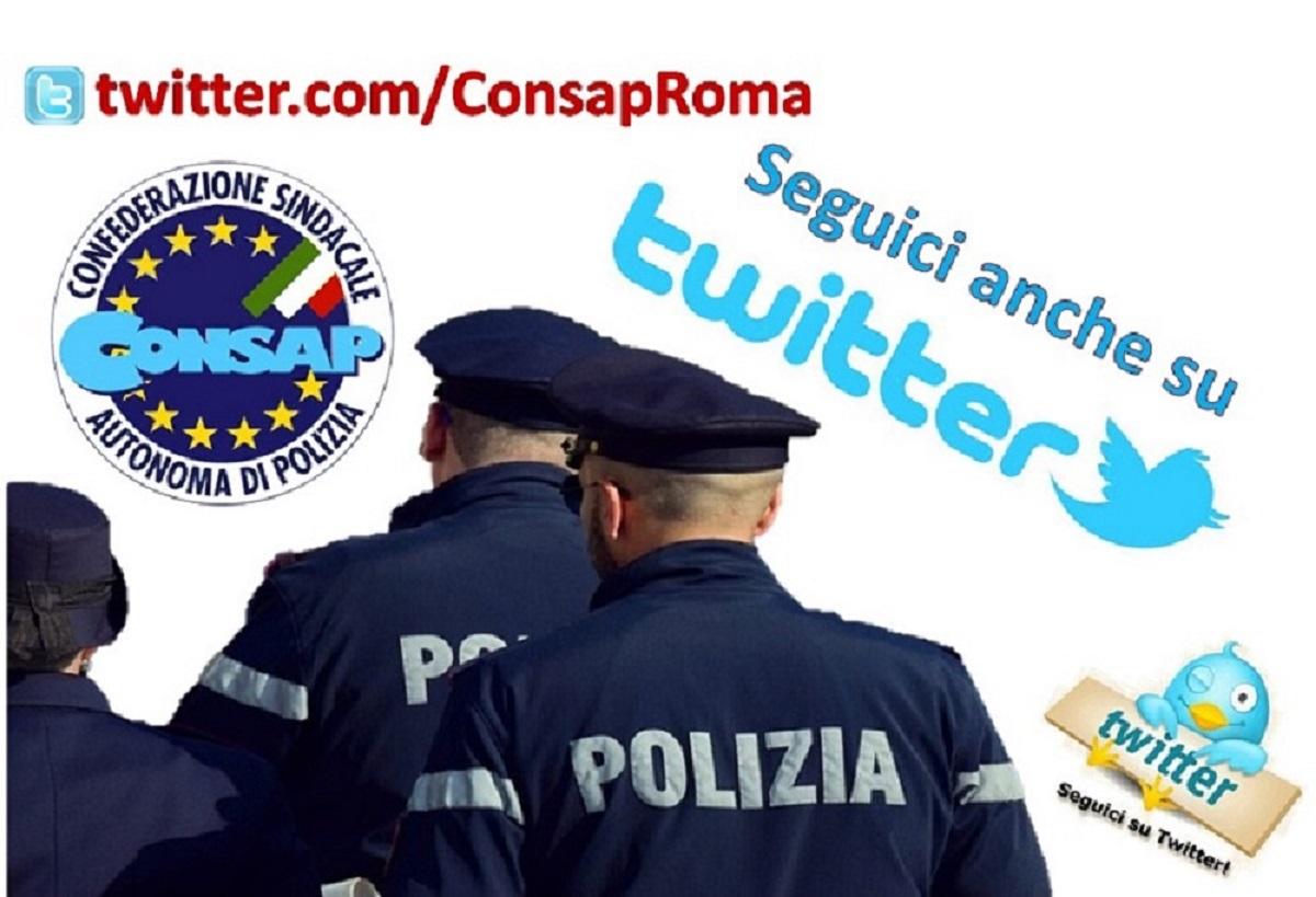 Seguici su TWITTER @CONSAP Roma