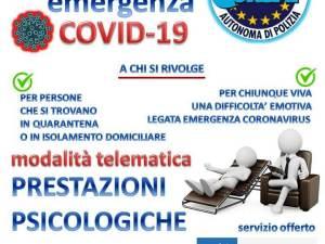 Servizio Psicologico COVID-19 CONSAP Roma