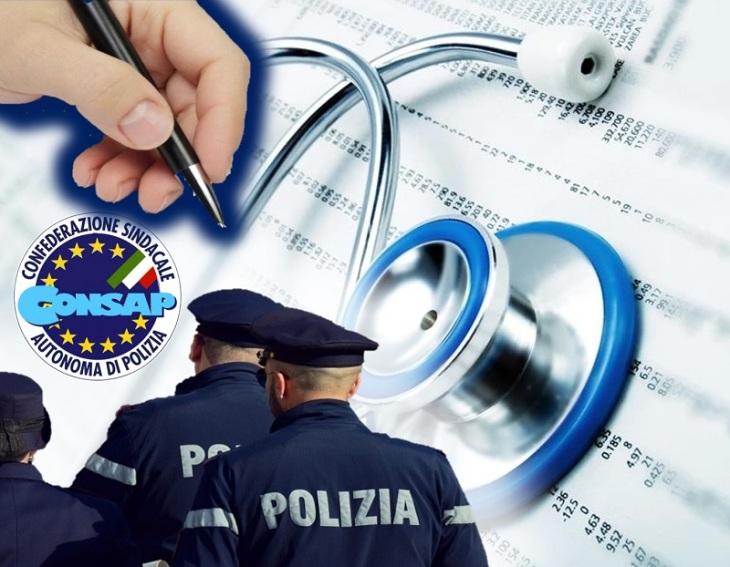 Salute del personale di Polizia, la CONSAP chiede stipula di forme assicurative gratuite