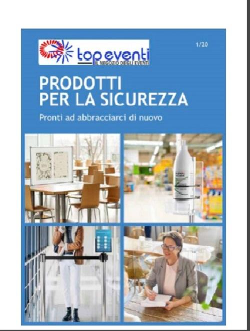 Brochure Prodotti Sicurezza - Top Eventi Srl - CONSAP Roma